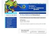 Bild Webseite  Dietzenbach