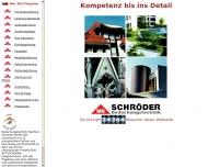 Bild Webseite Bedachungstechnik Manfred Schröder Köln