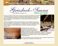 Website Griesbeck Saunabau