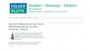 Bild Kluth Volker Gas- und Wasserinstallation