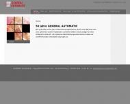 Bild GENERAL AUTOMATIC GmbH & Co. KG