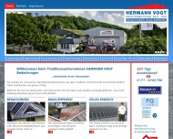 Website Hermann Vogt