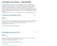Website Schade & Sohn Beteiligungen