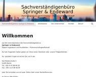 Bild Webseite Ulrich Springer (Sachverständigenbüro) Berlin