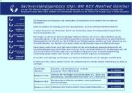 Bild Webseite Günther Manfred Sachverständiger für Grundstücksbewertung Berlin