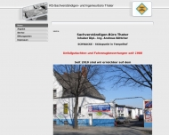 Bild Webseite Sachverständigerbüro Thater Sachverständiger für KFZ Berlin