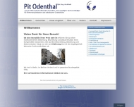 Bild Webseite Pit Odenthal Berlin