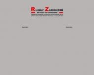 Website Zachskorn Rudolf