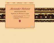 Bild Hetzner Alexander Diploma di Restauro Legni