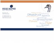 Bild NEUE RE PRO Druck + Produktion GmbH