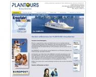 Bild Webseite Plantours & Partner Gesellschaft Bremen