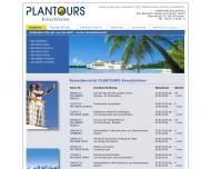Website Plantours & Partner Gesellschaft