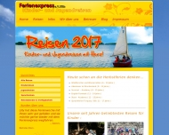 Website Ferienexpress