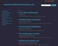 Website ORPHEUS Kultur- und Studienreisen