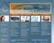 Bild Webseite Immobilien Dr. Reise & Partner Leipzig
