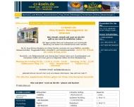 Bild Webseite Creativ Reiseagentur K. Reimann Köln