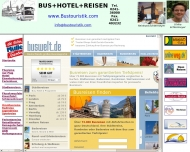 Bild Webseite AC-Touristik Aachen