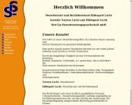 Bild Webseite Slut-up Steuerberatungsgesellschaft Lübeck