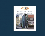 Bild Webseite Rechtsanwaltskanzlei Schließer, Zab & Partner Berlin