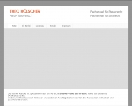Bild Webseite Hölscher Theo Rechtsanwalt Köln