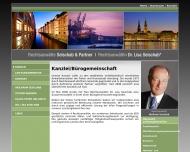 Bild Webseite Seischab & Partner Hamburg