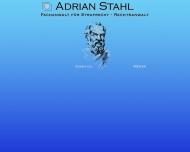 Bild Webseite Stahl Adrian Rechtsanwalt Berlin