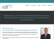 Bild Webseite Rechtsanwalt Dietmar Dorn Nürnberg