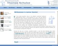 Bild Webseite Rechtsanwalt Thomas Schulze Berlin