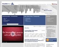 Bild Webseite Lahrmann Achim Rechtsanwalt Osnabrück