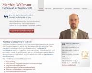Bild Webseite Rechtsanwalt Matthias Wellmann Berlin