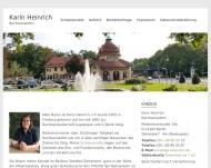 Bild Webseite Rechtsanwältin Karin Heinrich Berlin