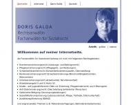 Bild Webseite Rechtsanwältin Doris Galda Bremen