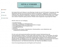Website Höck Werner