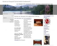 Website Kanzlei am Seepark, Freiburg