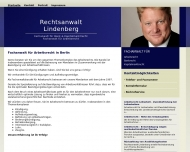 Bild Webseite Rechtsanwalt Alexander Lindenberg Berlin