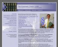 Bild Webseite Rechtsanwalt Dieter Linke Berlin