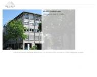 Bild Webseite Müller Rechtsanwälte Nürnberg