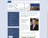Bild Webseite Rechtsanwalt Hanns J. Ringlstetter München