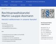 Bild Webseite Rechtsanwalt Martin Lauppe-Assmann Düsseldorf