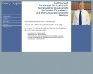 Website Dippold Georg Rechtsanwalt