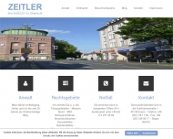 Website Zeitler Wolfgang Rechtsanwalt