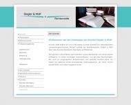 Bild Webseite Wolf Jeanette , Siegler Renate Rechtsanwältinnen Nürnberg