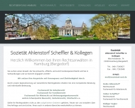 Bild Webseite Rechtsanwalt Heiko Ahlenstorf Hamburg