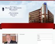 Website Manthey + Hagedorn Rechtsanwälte