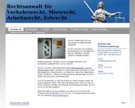 Bild Webseite Rechtsanwalt Weisbarth Köln