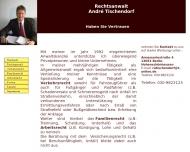 Bild Rechtsanwalt André Tischendorf