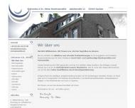 Bild Webseite Steinmetz & Dr. Otten Rechtsanwälte Aachen