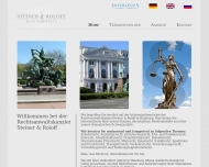 Bild Webseite Roloff F. Rechtsanwalt Hamburg