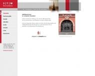 Website Steinmetz Dr., Tappe und Waldmann Rechtsanwälte