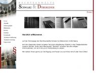 Bild Webseite Rechtsanwälte Schwarz Gerhard u. Döbereiner Hartmut Nürnberg